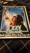 OZZY OSBOURNE - DVD 'BARK AT THE MOON' 1984 - JAKE E. LEE great show RARE