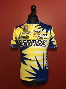 Vintage Giordana Cycling Racing Jersey Shirt PEDROS Short Sleeved