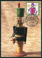 BRD MK 1990 WEIHNACHTEN RÄUCHERMÄNNCHEN MAXIMUMKARTE MAXIMUM CARD MC CM bt58