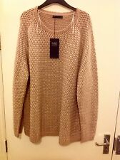 M&S Collection Cable Knit Jumper Size: 24