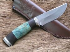 "Custom  Premium  Bulat handmade knife ""Black bear""HP-867 HRC 63"