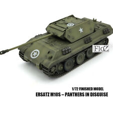 DRAGON WWII  GERMAN Ersatz M10s – Panthers in Disguise 1/72 tank model finished