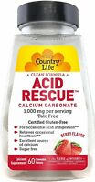 Acid Rescue by Country Life, 60 tablet Berry