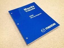 9999 95 038G 08 Mazda Tribute 2008 Wiring Diagram Workshop  Service Manual