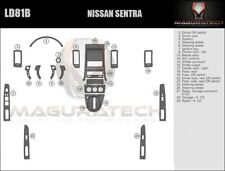 Fits Nissan Sentra 4DR 2007-2009 W/6-Disc Large Premium Wood Dash Trim Kit
