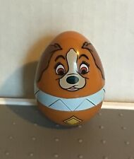 2017 Disney Eggstravaganza Easter Hunt Lady and The Tramp Lady Collectible Egg