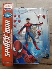 """MARVEL SELECT THE AMAZING SPIDER-MAN 2 UNMASKED DISNEY STORE EXCLUSIVE MISB 7"""""""