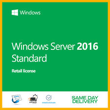 Server 2016 Standard Product Key Activation License