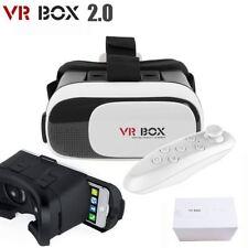 2017 ultimo realtà virtuale 3D VR SCATOLA Occhiali TELEFONO AURICOLARE CASCO + Remote
