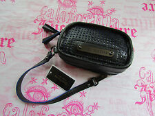 Juicy Couture Bag Light Airy Perforated Leather Wristlet NEW $98
