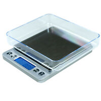 3000g x 0.1g Digital Scale Portable Precision Scale with Trays & PCS Counting