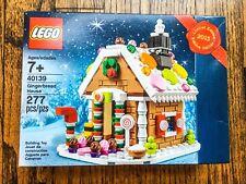LEGO Holiday Gingerbread House (40139) NIB bent box