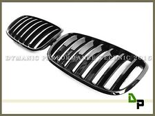 P Style Gloss Black Front Grille Fits BMW E70 E71 Model X5 X6 SUV 2007-2013