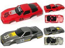 2 pc 1989 TYCO Corvette Challenge #33 & #45 Chevy ZR1 Slot Car BODY PAIR Unused