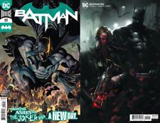 Batman #101 Cvr A & B Set - March & Mattina Grifter Variant (Nm) 2020 Dc Comics