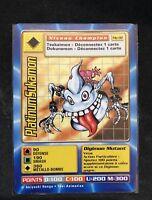 Carte Digimon PlatinumSukamon MP-92 Française Rare