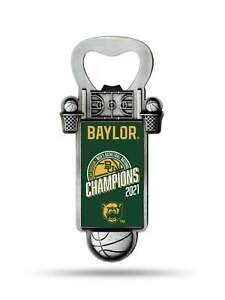 Baylor Bears 2020-2021 NCAA Basketball National Champions Magnetic Bottle Opener