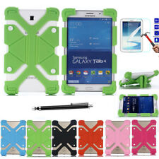 Universal Rubber Shockproof Cover Case For Samsung Galaxy Tab A E 3 4 J S S2 S3