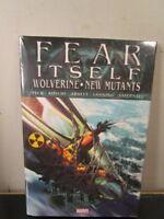 Fear Itself Wolverine & New Mutants 1 2 Marvel Comics HC Hard Cover New Sealed ~