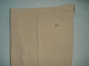 PGA Tour Mens Golf Shorts Sz 34 tan - pleated front