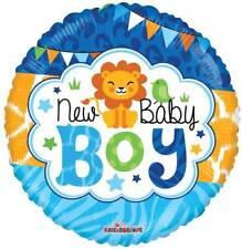 New Baby Boy BALLOON Foil 18 inch Full Colour