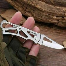 Mini Stainless Steel Pockets Knife Portable Folding Knife Fruits Cutter Foldable