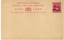 Pre-Decimal Cover Bermudian Stamps