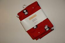 Gymboree Winter Penguin Girls Size 3T Red Leggings NEW NWT
