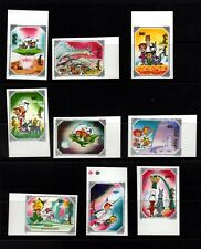 Mongolia #1923-33 (1991 The Jetsons set and  sheets) VF MNH  imperforate