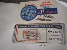 35360 FARO PROIETTORE (HEAD LAMP) DX HB3-HB4 PRED.REG.ELETTRICA JEEP GRAND CHERO