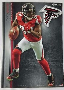 "Roddy White 2013 Fathead Tradeable 5"" x 7"" Atlanta Falcons team logo - #59"