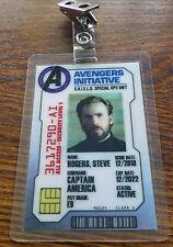 Avengers Infinity War ID Badge-Steve Rogers Captain America costume cosplay