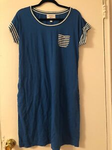 NWOT CAROLE HOCHMAN  HEAVENLY SOFT SLEEP SHIRT SIZE S COLOR BLUE