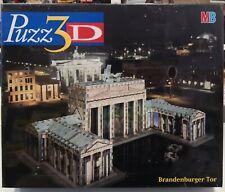 MB PUZZ 3D - BRANDENBURGER TOR - 357 PZ. - Hasbro 15578 - Nuovo /New