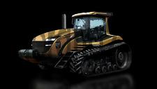 A3 CAT Challenger Porsche Design Tractor Agriculture Poster Brochure Picture Art