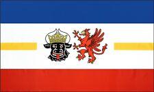 Fahne Flagge Mecklenburg-Vorpommern 90 x 150 cm, mit 2 Ösen