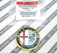 100% GENUINE ALFA ROMEO GT & MITO & 4C  New Alloy Wheel Center Cap 50mm