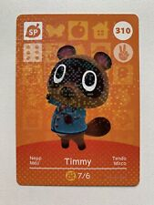 Animal Crossing Genuine Official Amiibo Card Timmy 310 [Mint Unscanned]