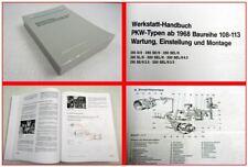 Mercedes Benz 280 S SE SL Pagode 300 SEL / 8 SEL/9 Werkstatthandbuch ab 1968