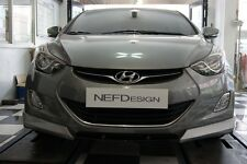 NEFD Design Front Bumper Lip Unpainted For Hyundai Elantra Avante MD 2011 2016