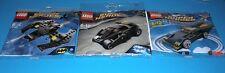 3x Lego Super Helden! Batmans Batwing , Tumbler und Batmobile