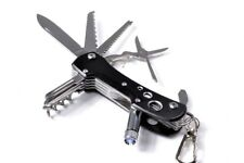 14 Function Swiss Style Black Anodized Alloy Multitool