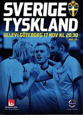 Länderspiel 17.11.2010 Schweden - Deutschland in Göteborg