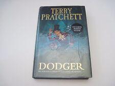 Terry Pratchett Dodger Signed 1st edition first print