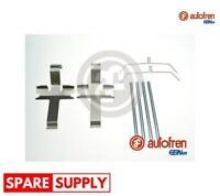 ACCESSORY KIT, DISC BRAKE PADS FOR TOYOTA AUTOFREN SEINSA D43029A
