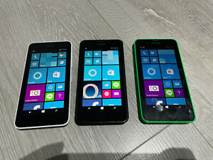 Nokia Lumia 635 -Smartphone - Unlocked - O2 - Black - White - Green 4G - LTE