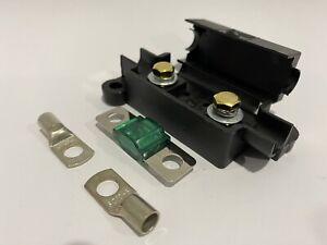 Midi Fuse Holder +40 Amp Fuse, 2x 10mm Lugs suit REDARC / CTEK Dual Battery 8B&S
