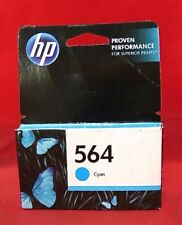 CB318WN 564 HP Cyan Ink DeskJet 3520 3521 3522 3526 OfficeJet 4620 4622 +