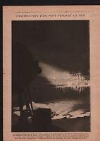 WWI Pont Petain Décoration General de Ceuninck /Roi Albert Ier 1918 ILLUSTRATION