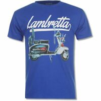 Nwt Lambretta Men's T-Shirt 'Scooter' Short Sleeve Tees Top